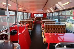 bus upstairs